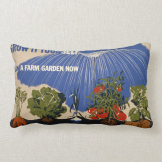 Farm Garden Pillow