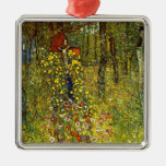 Farm Garden with Crucifix by Gustav Klimt Ornament
