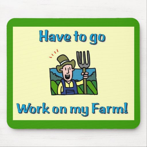 Farm Gifts Mouse Pad Zazzle