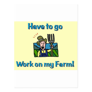 Farm gifts postcard