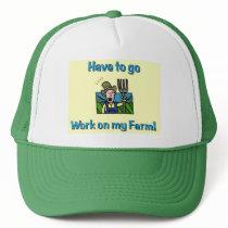 Farm gifts trucker hat