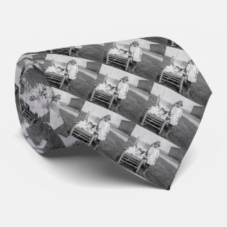 Farm Girl and Her Doll Friends Vintage Neck Tie