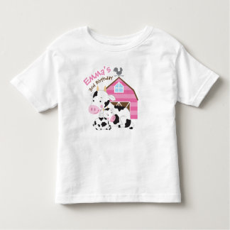 Farm Girl Birthday Tshirt