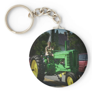 Farm Girl Keychain