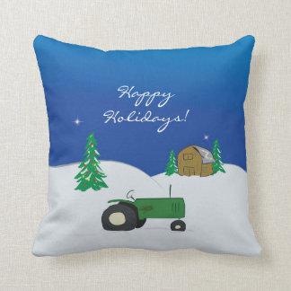 Farm Holiday Pillow