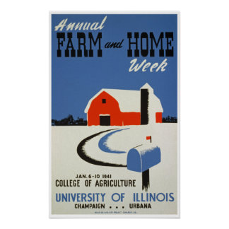 Farm & Home Week Poster