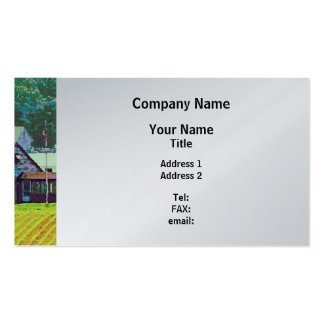Farm Homestead - Platinum Finish Business Card
