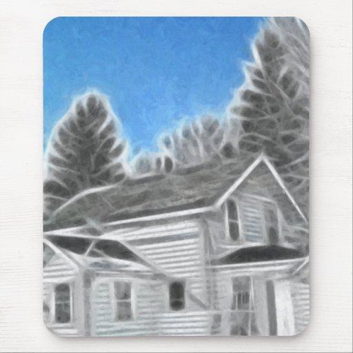 Farm House 2 Enhanced Oil Mouse Mat