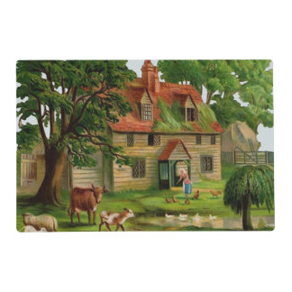Farm House And Country Garden Placemat