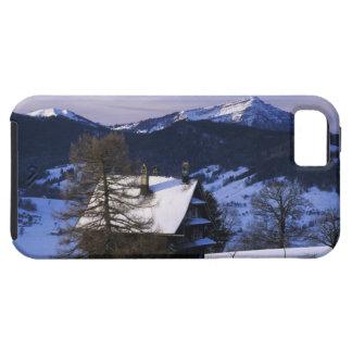 Farm house and Mount Rigi and Pilatus, iPhone 5 Case