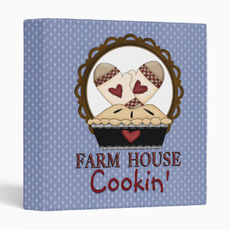 Farm House Cook Book Cover Binder