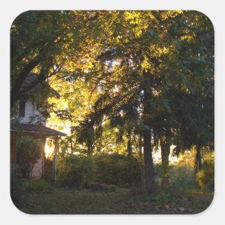 Farm House - CricketDiane Country Living Stuff Square Sticker