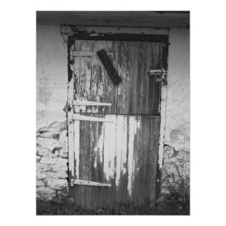 """Farm House Door""  Poster"