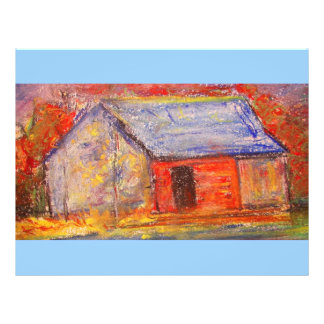 "farm house 8.5"" x 11"" flyer"