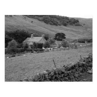 """""""Farm House in the Hills"""" Postcard"""