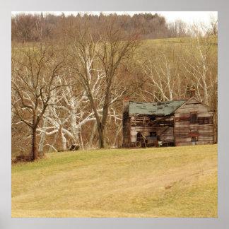Farm House Print