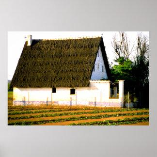 Farm house, Valencia, Spain Poster