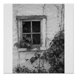 """Farm House Window"" Poster"