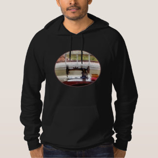 Farm House With Sewing Machine Hoodie