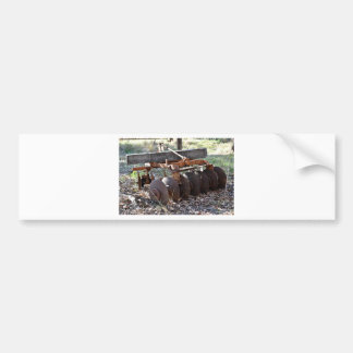 FARM IMPLEMENT RURAL QUEENSLAND AUSTRALIA CAR BUMPER STICKER