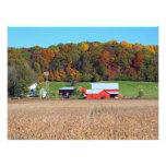 Farm in Fall Photo Print