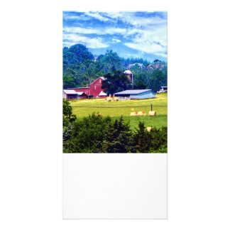 Farm in the Distance Card