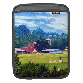 Farm in the Distance iPad Sleeve