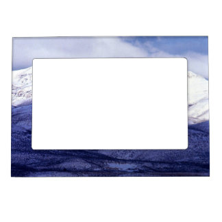 Farm in the Owyhee Mountains Idaho Magnetic Picture Frame