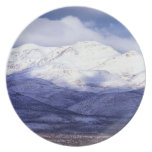 Farm in the Owyhee Mountains Idaho Party Plate