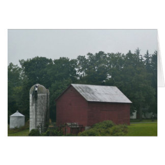 Farm in Upstate New York Card
