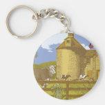 Farm Key Chains