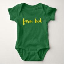 Farm Kid - Baby Baby Bodysuit