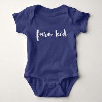 Farm Kid Baby Bodysuit