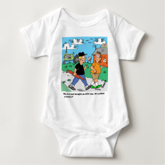 Farm Kids ATV /Tractor Cartoon Baby Bodysuit