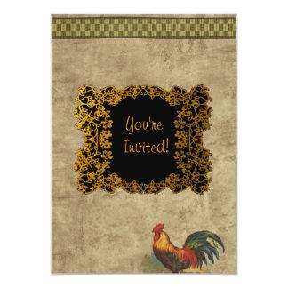 Farm Life 5x7 Paper Invitation Card