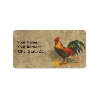 Farm Life Address Label