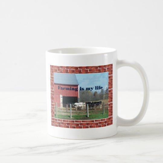 farm life coffee mug
