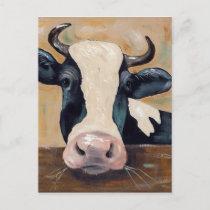 Farm Life - Gunther the Cow Postcard