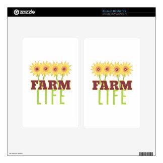Farm Life Kindle Fire Decal