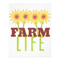 Farm Life Letterhead