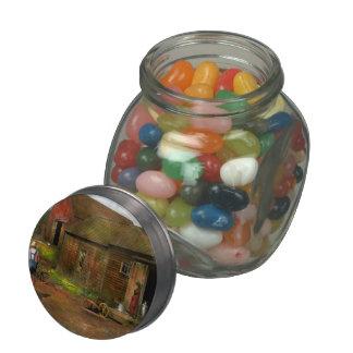 Farm - Life on the farm 1940s Jelly Belly Candy Jar