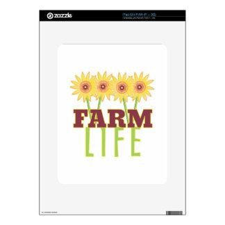 Farm Life Skin For iPad