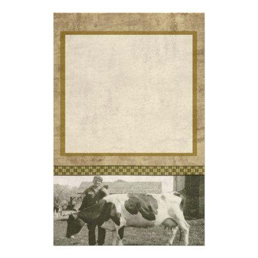 Farm Life Stationery Paper