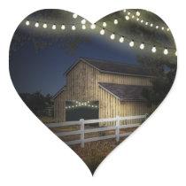 Farm Lights Rustic Barn Wedding Favors Seals