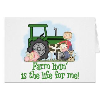 Farm Livin' (Boy) Card