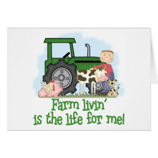 Farm Livin' (Boy) Card