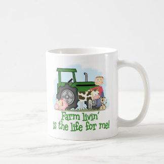 Farm Livin' (Boy) Coffee Mug
