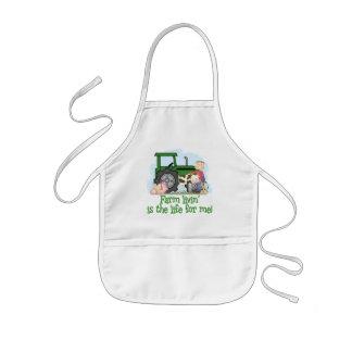 Farm Livin' (Boy) Kids' Apron