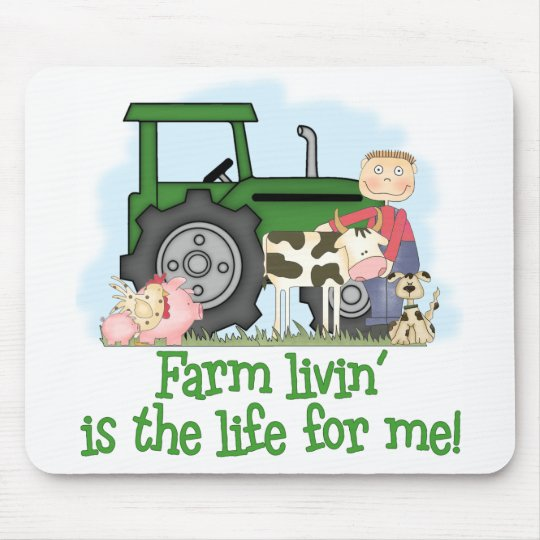 Farm Livin' (Boy) Mouse Pad