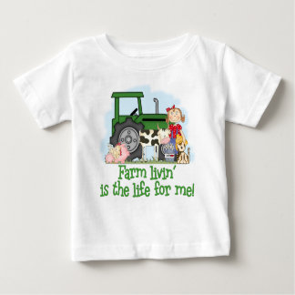 Farm Livin' (Girl) Baby T-Shirt